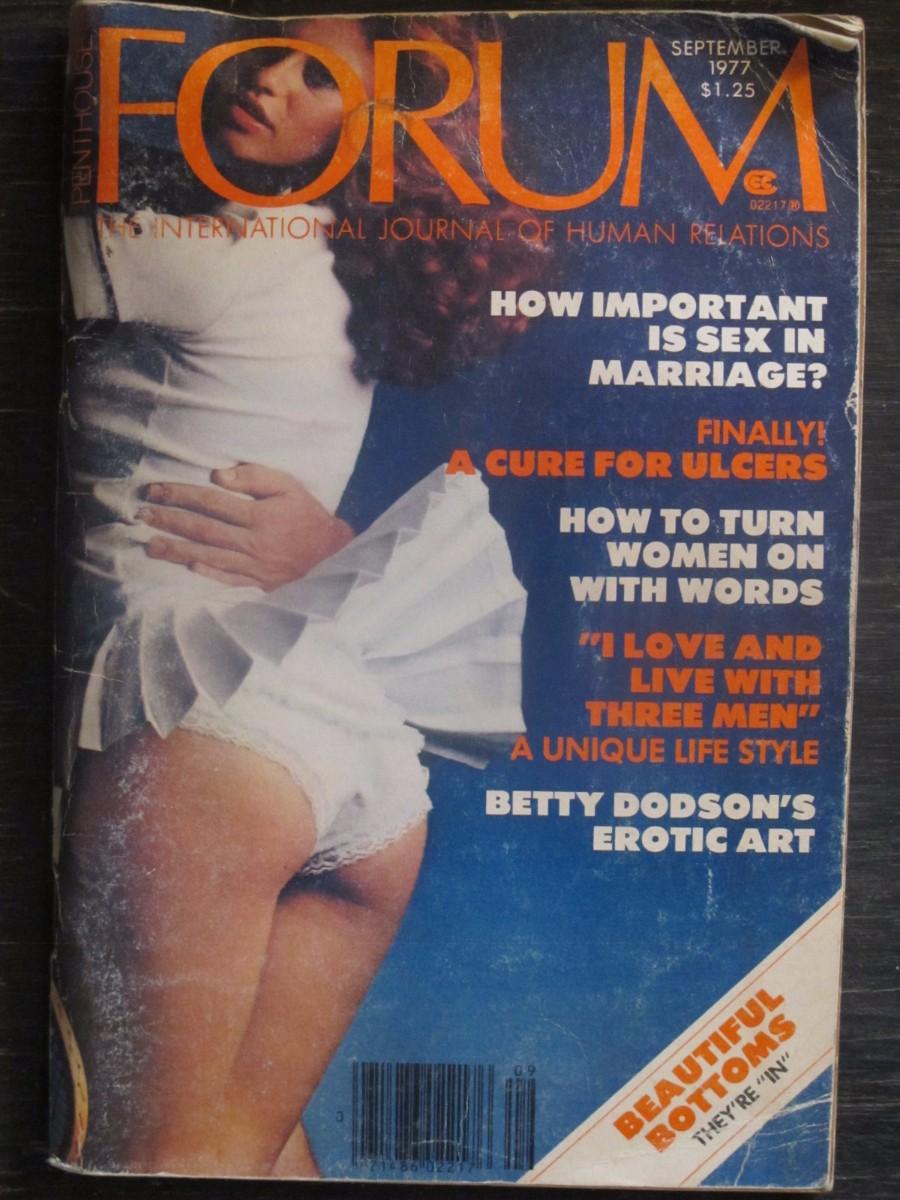 Penthouse Forum Magazine September 1977