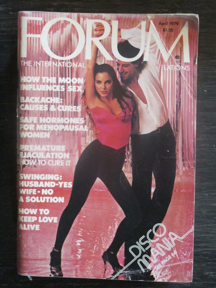 Penthouse Forum Magazine April 1979 Disco Mania