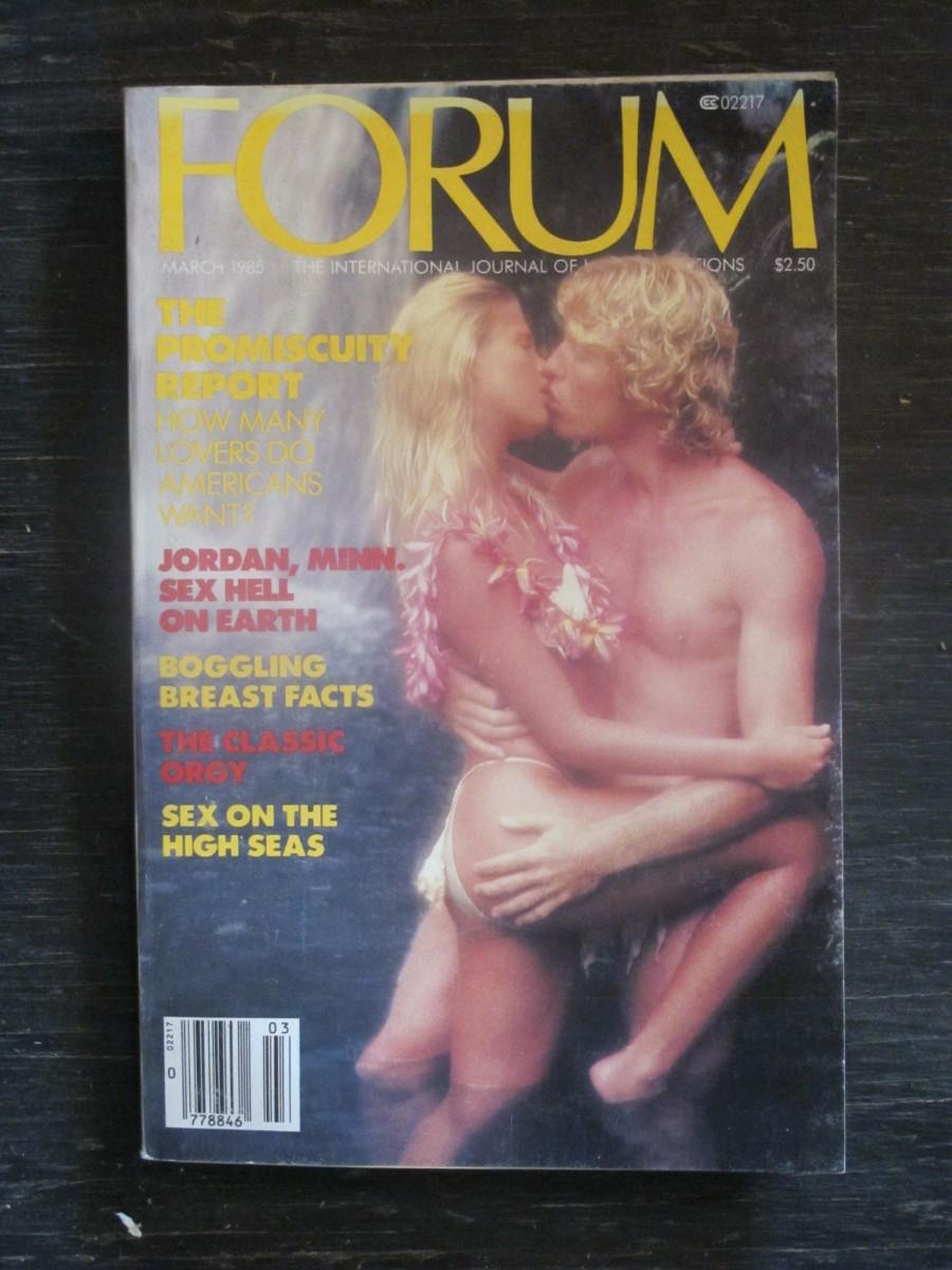 Penthouse Forum Magazine March 1985