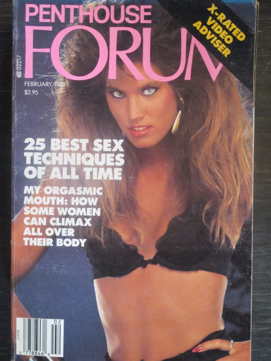 Penthouse Forum Magazine February 1988