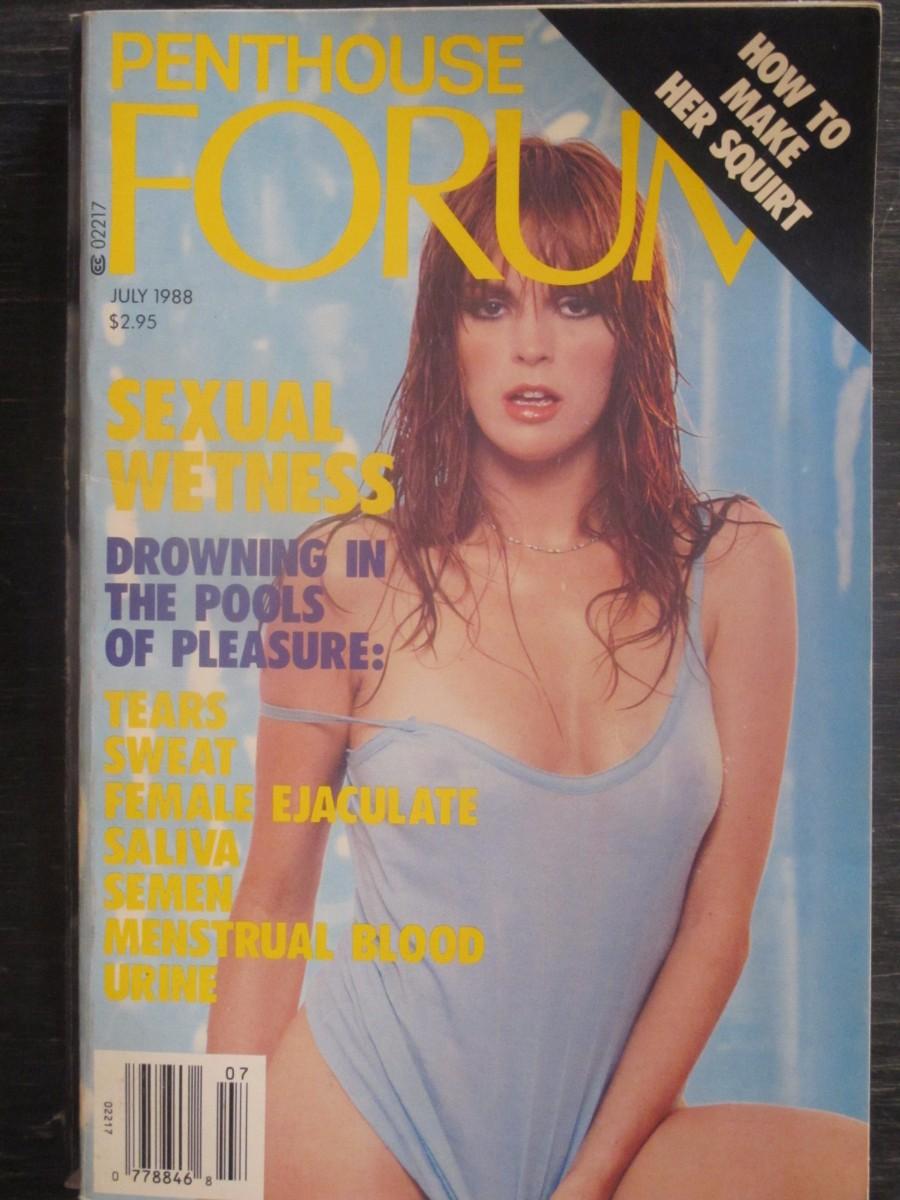 Penthouse Forum Magazine July 1988