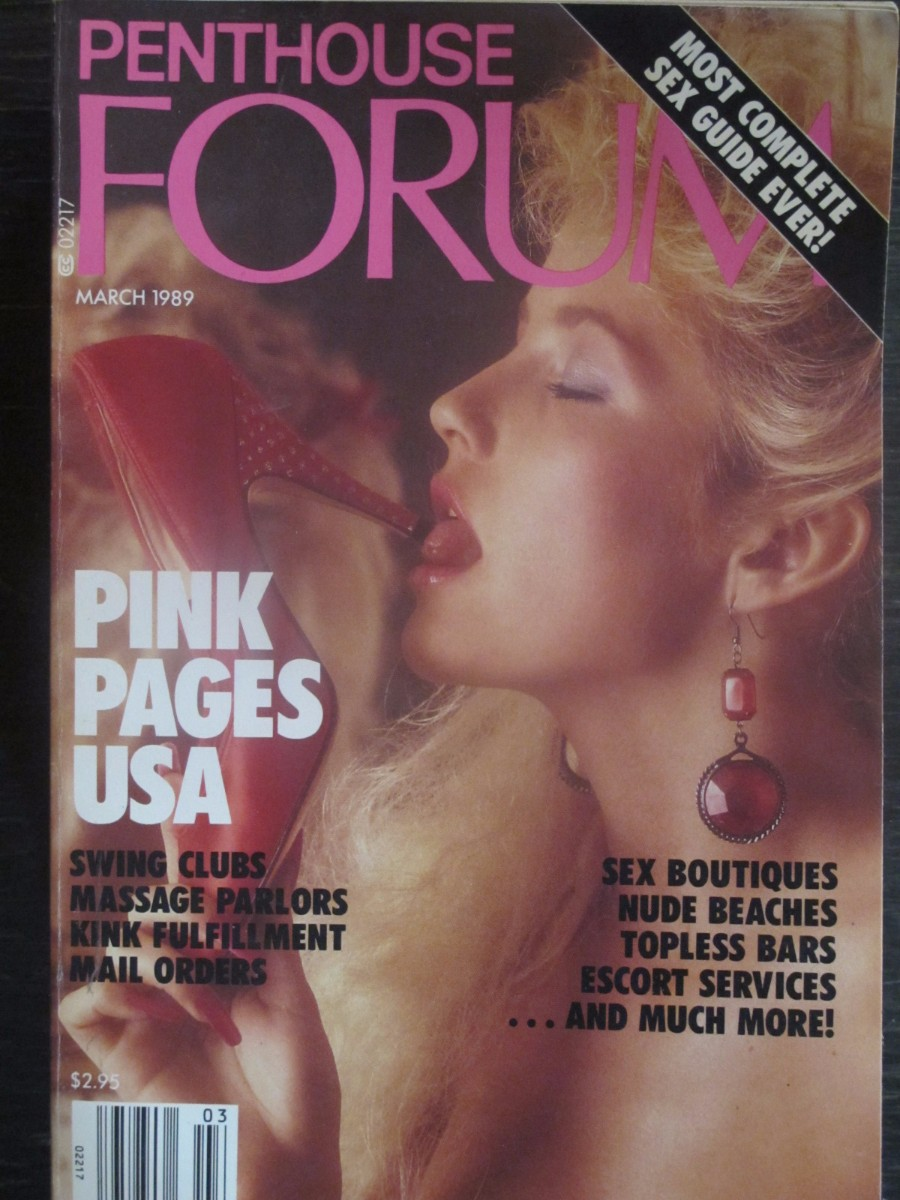 Penthouse Forum Magazine March 1989