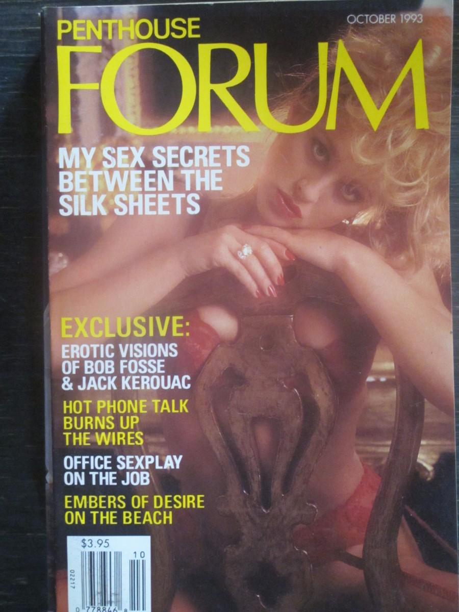 Penthouse Forum Magazine October 1993