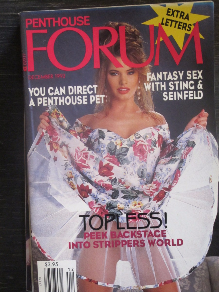 Penthouse Forum Magazine December 1993
