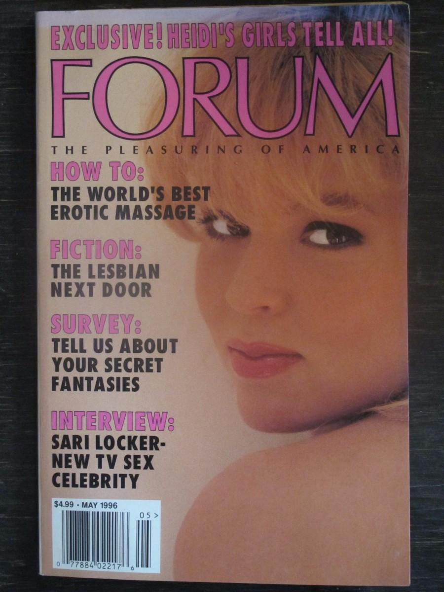 Penthouse Forum Magazine May 1996