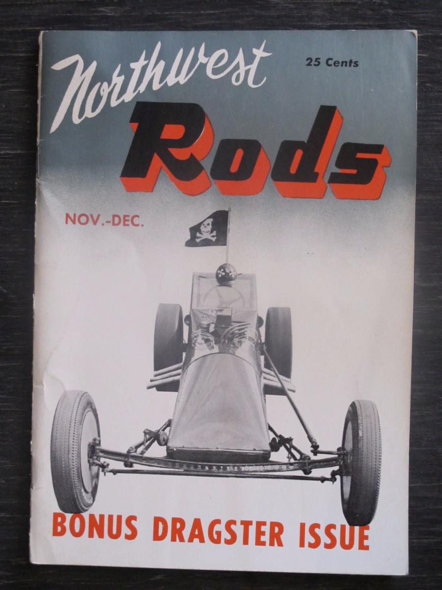 Rare Northwest Rod Little Pages Car #2 Magazine 1957