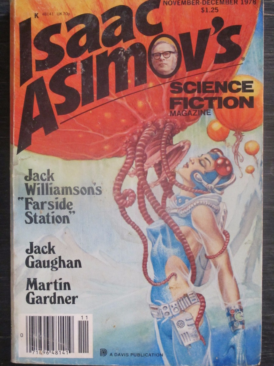 Isaac Asimov Science Fiction Magazine November / December 1979 Farside Station