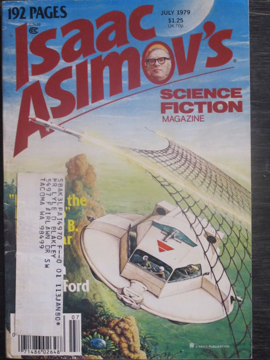 Isaac Asimov Science Fiction Magazine July 1979