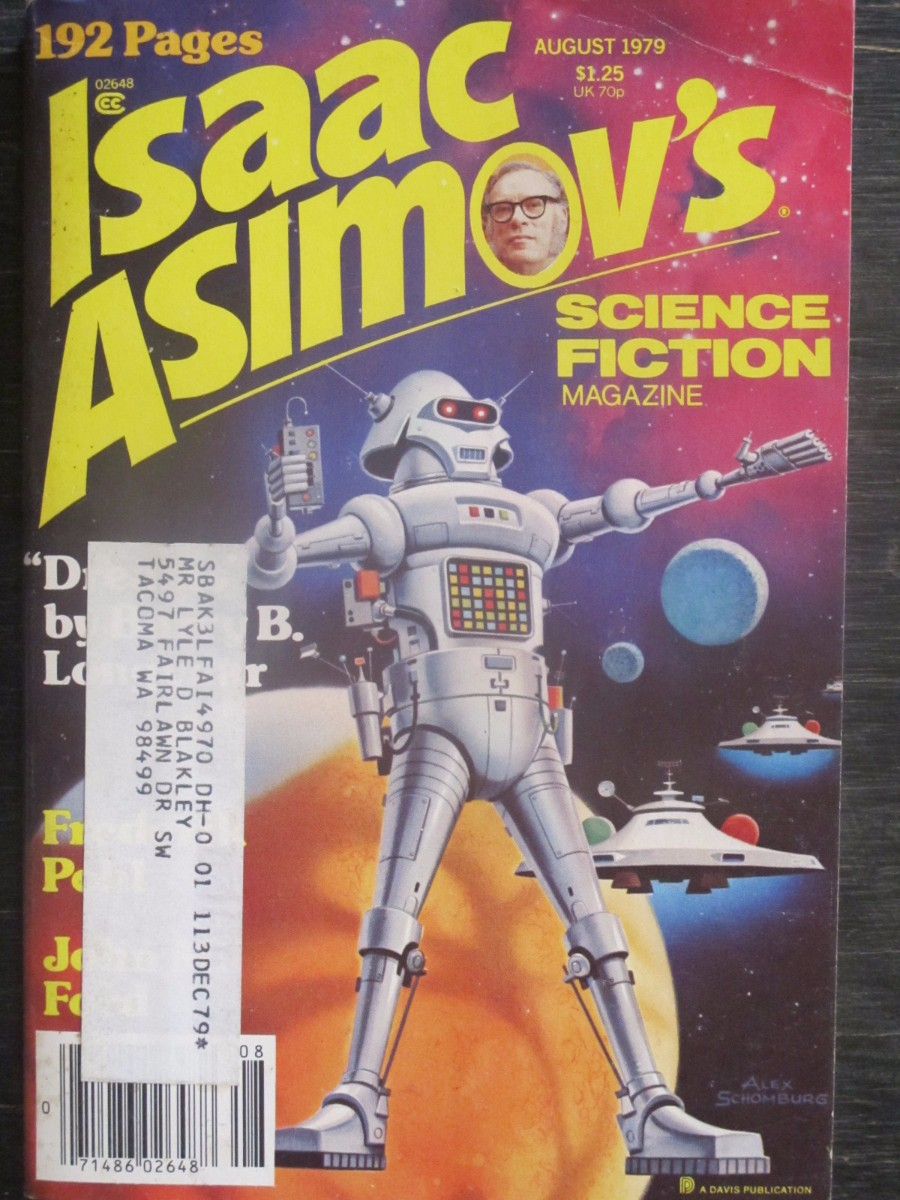 Isaac Asimov Science Fiction Magazine August 1979