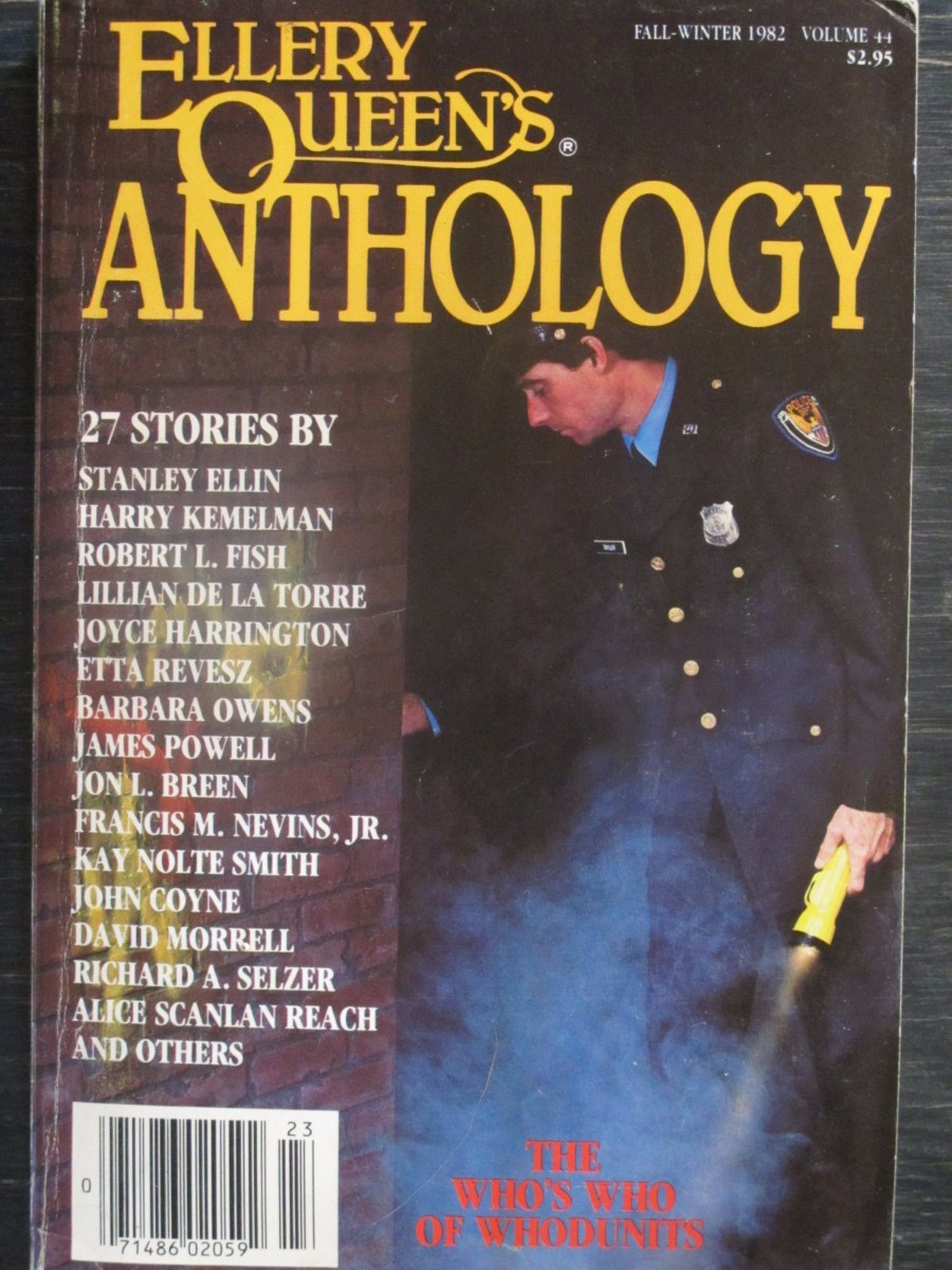 Ellery Queen Mystery Anthology Magazine 1982