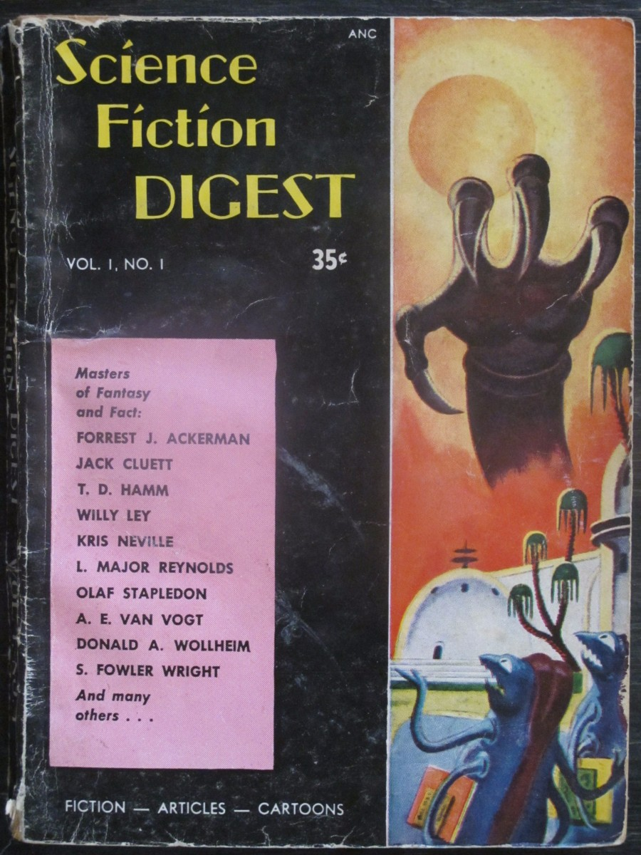 Science Fiction Digest Volume 1 #1 Magazine 1954