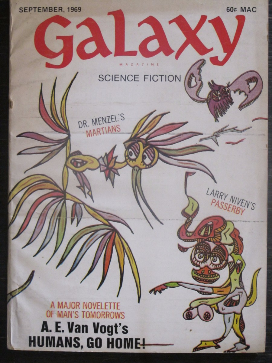 Galaxy Science Fiction Magazine September 1969 Dr. Menzel's Martians