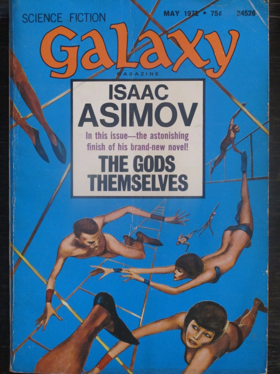 Galaxy Science Fiction Magazine May 1972 Isaac Asimov Gods Themselves