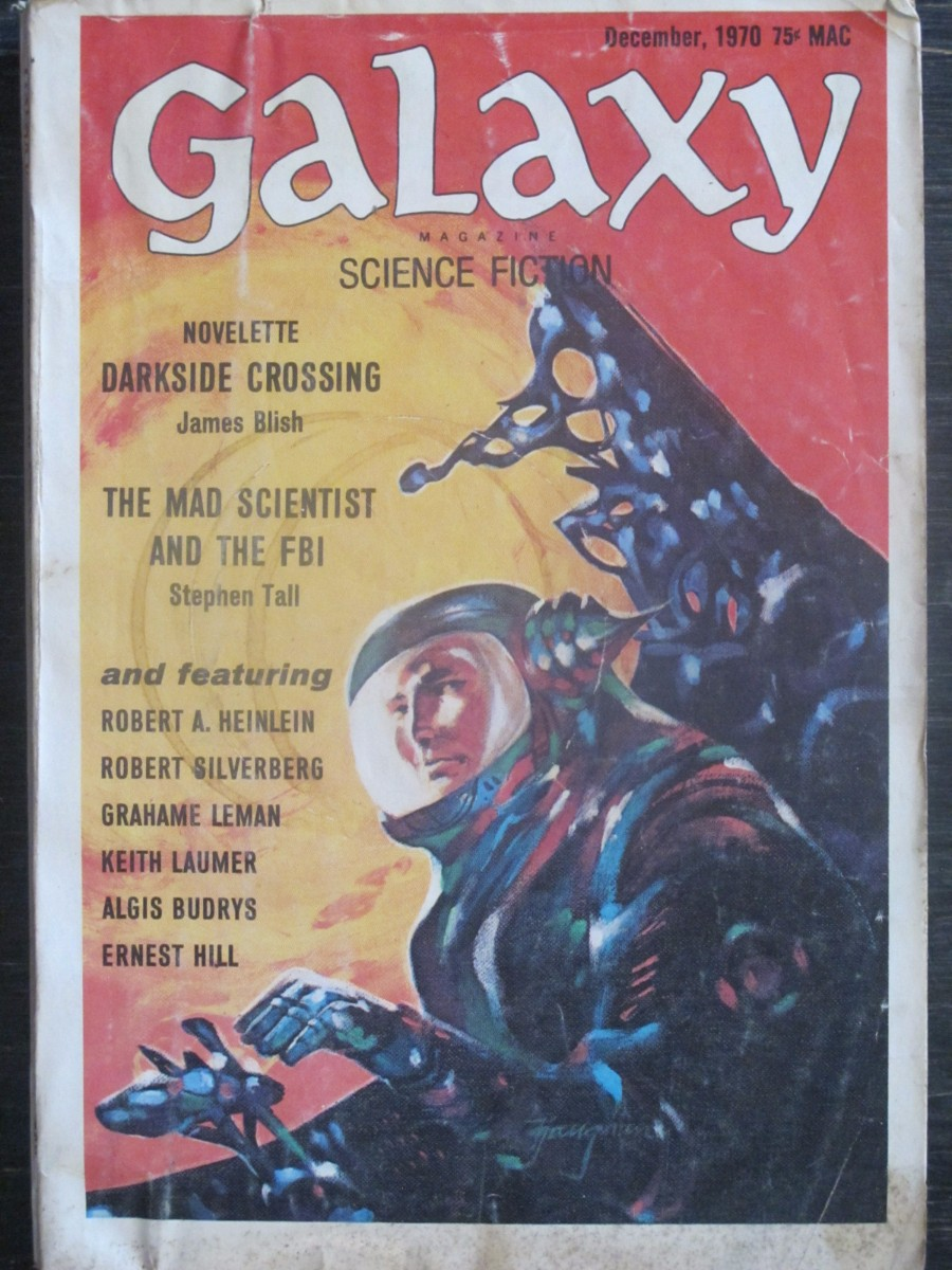 Galaxy Science Fiction Magazine December 1970 James Blish, Stephen Tall