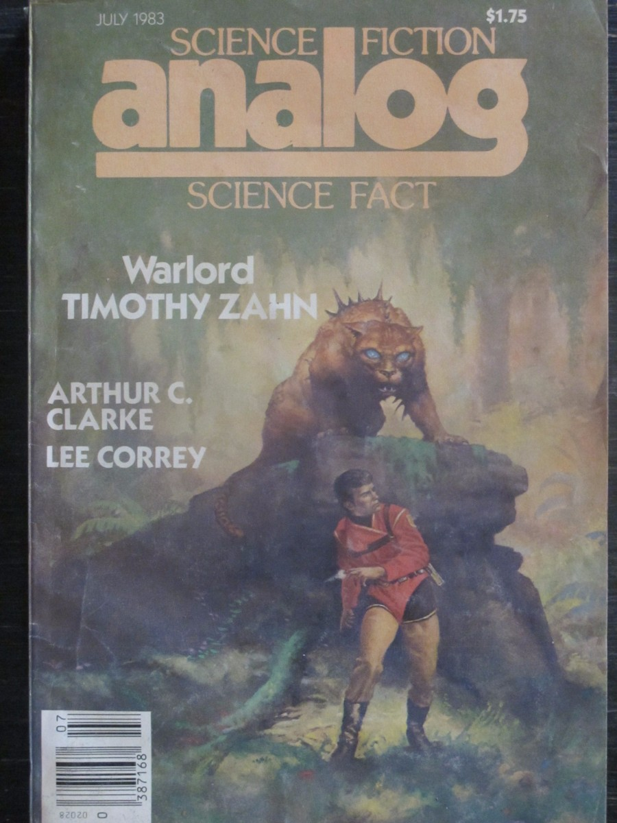 Analog Science Fact / Fiction Magazine September 1983 War Lord Timothy Zahn