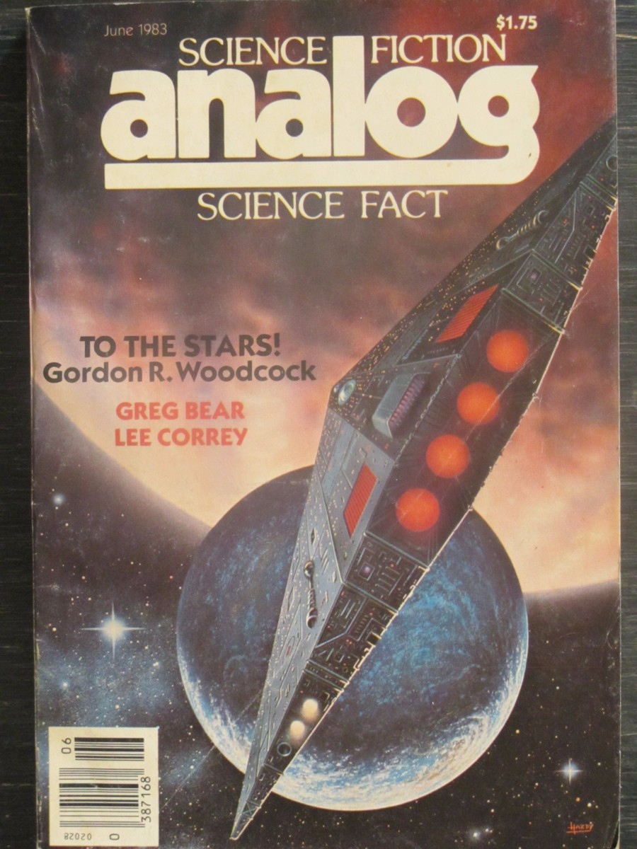 Analog Science Fact / Fiction Magazine June 1983 To The Stars Gordon R. Woodcock