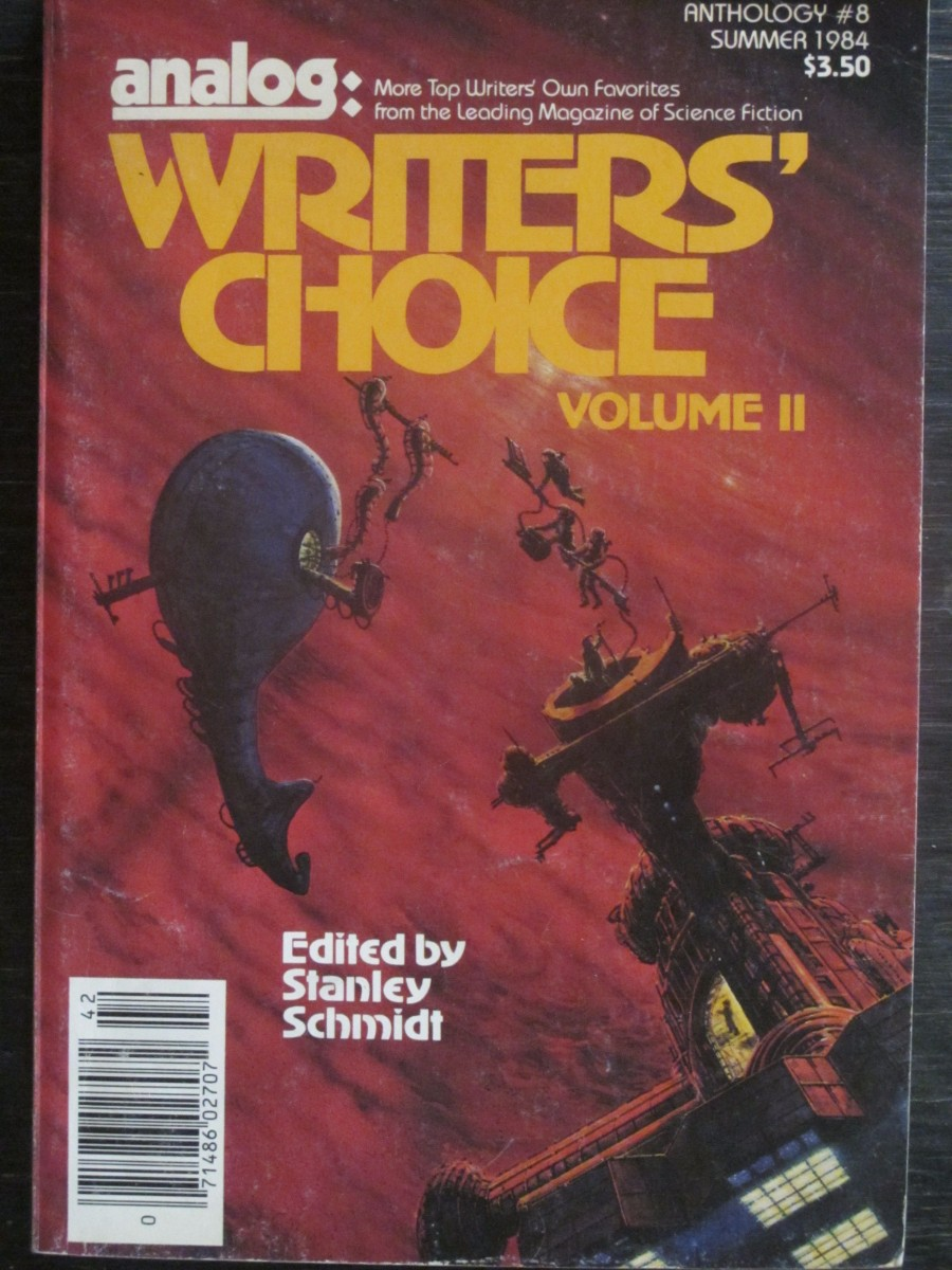 Analog Science Fact / Fiction Writer's Choice #8 Magazine 1984