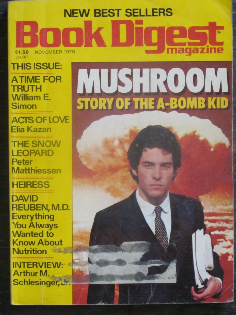 Book Digest Magazine November 1978 Mushroom A-Bomb Kid