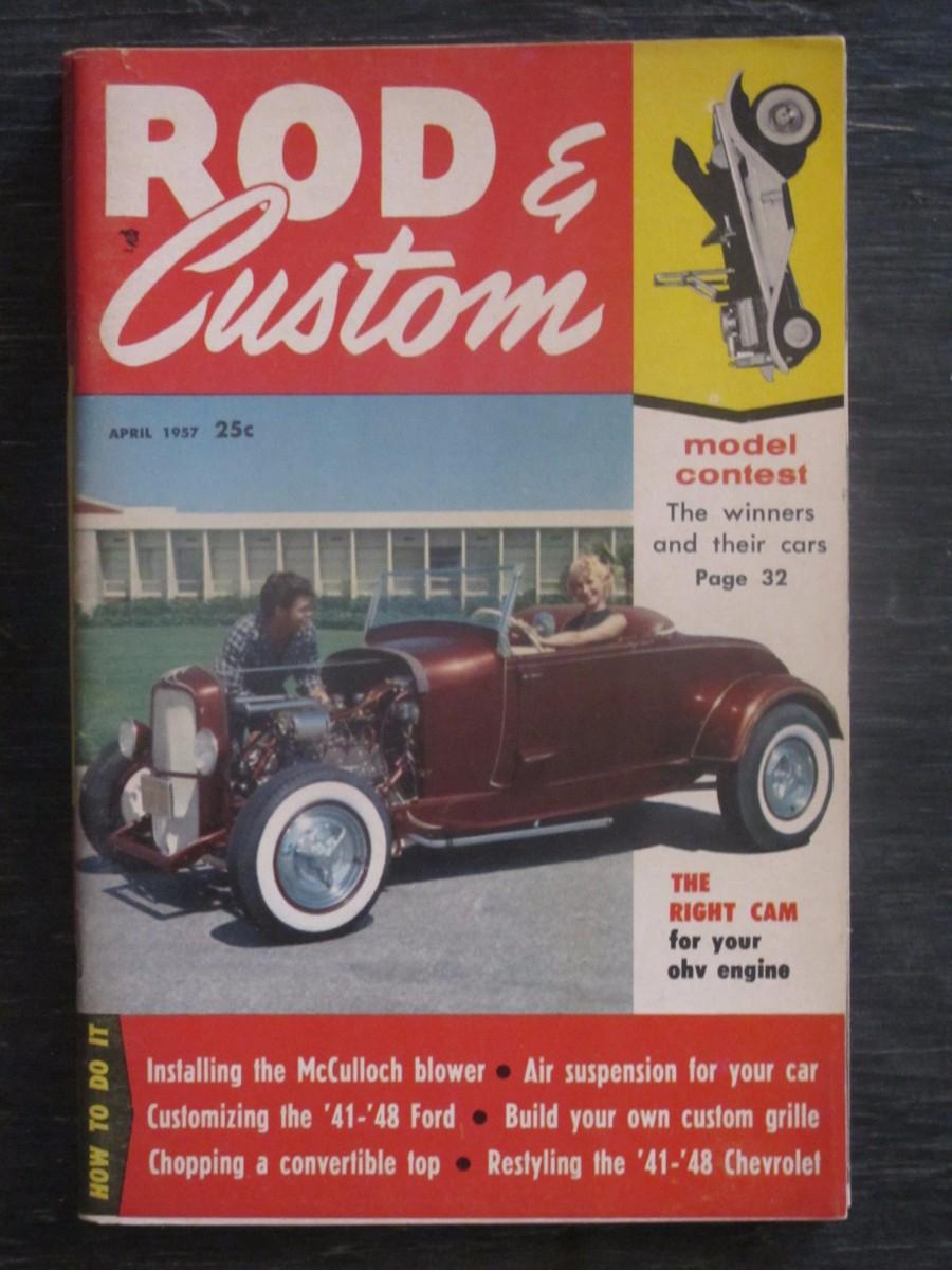 Rod & Custom Magazine April 1957
