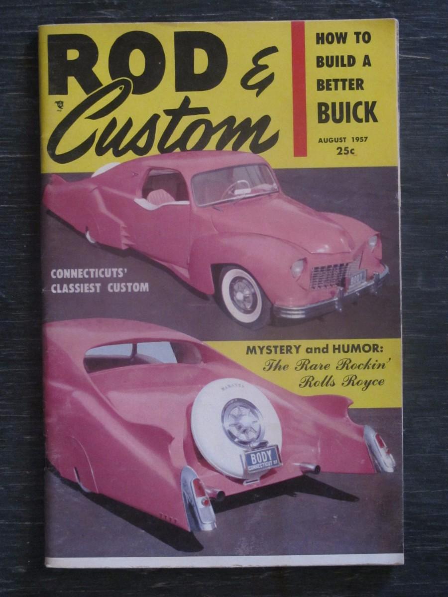 Rod & Custom Magazine August 1957