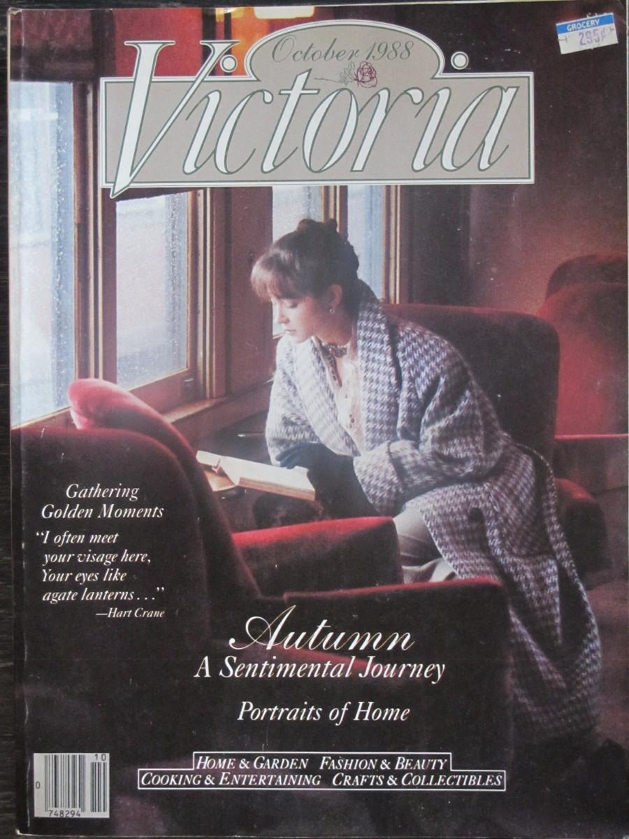 Victoria Magazine October 1988