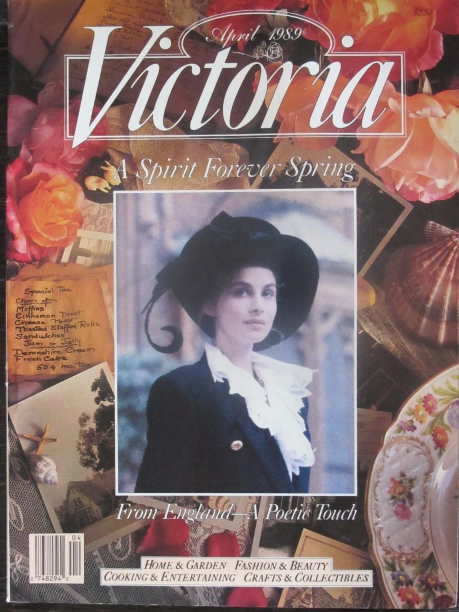 Victoria Magazine April 1989
