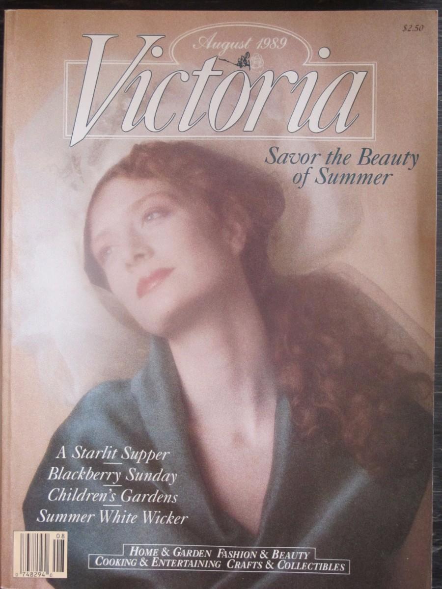 Victoria Magazine August 1989