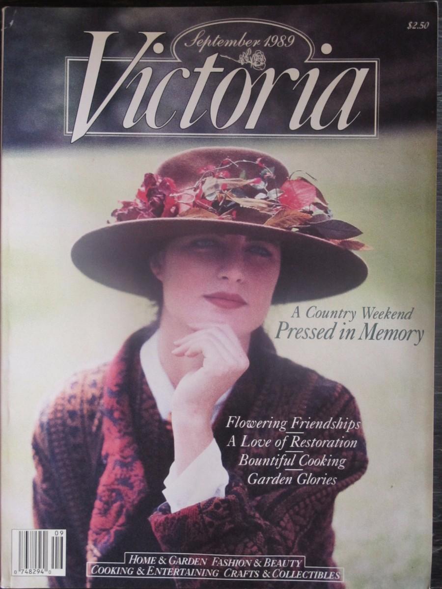 Victoria Magazine September 1989