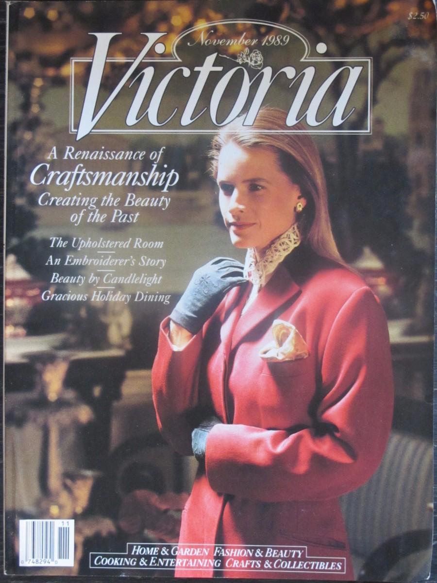 Victoria Magazine November 1989