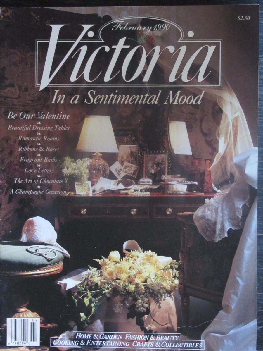 Victoria Magazine February 1990