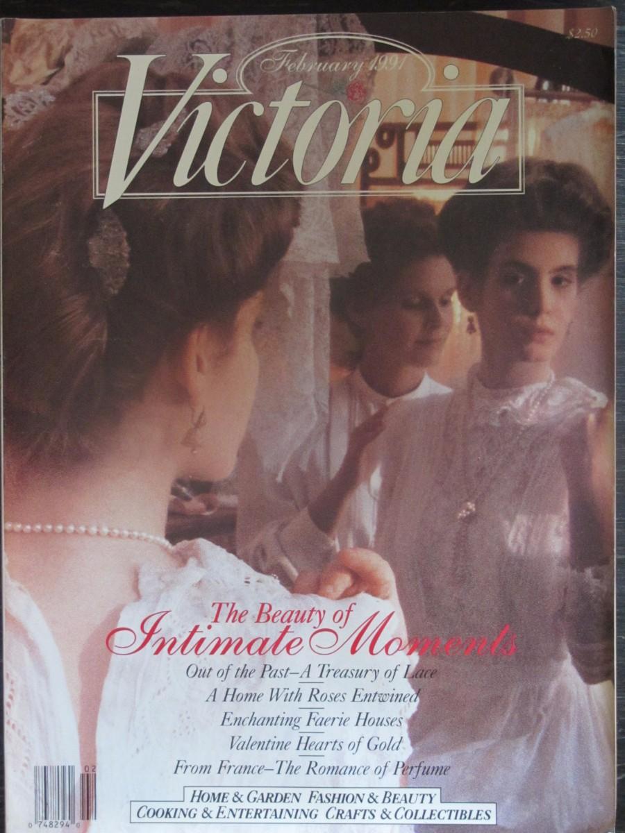 Victoria Magazine February 1991
