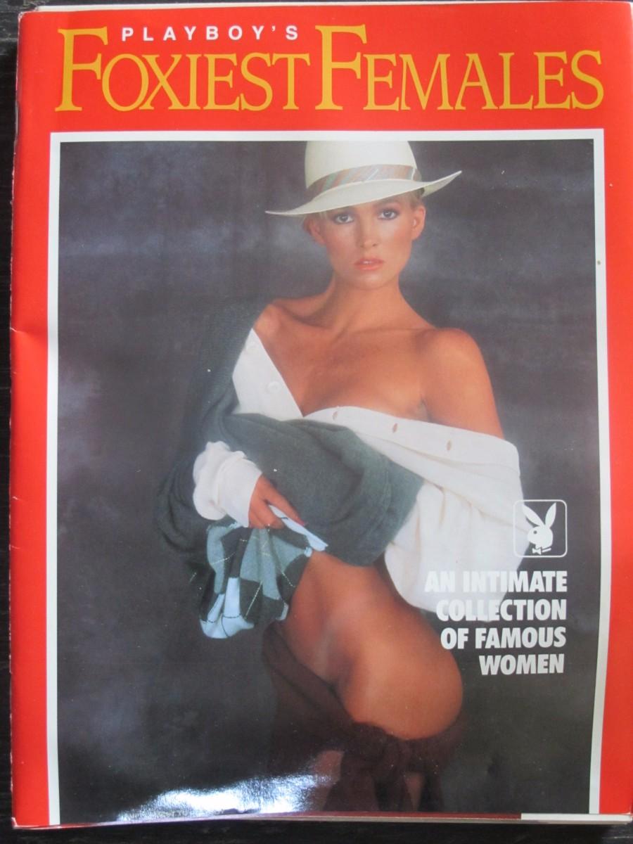 Playboy's Foxiest Females Supplement Magazine 1991 Janet Jones