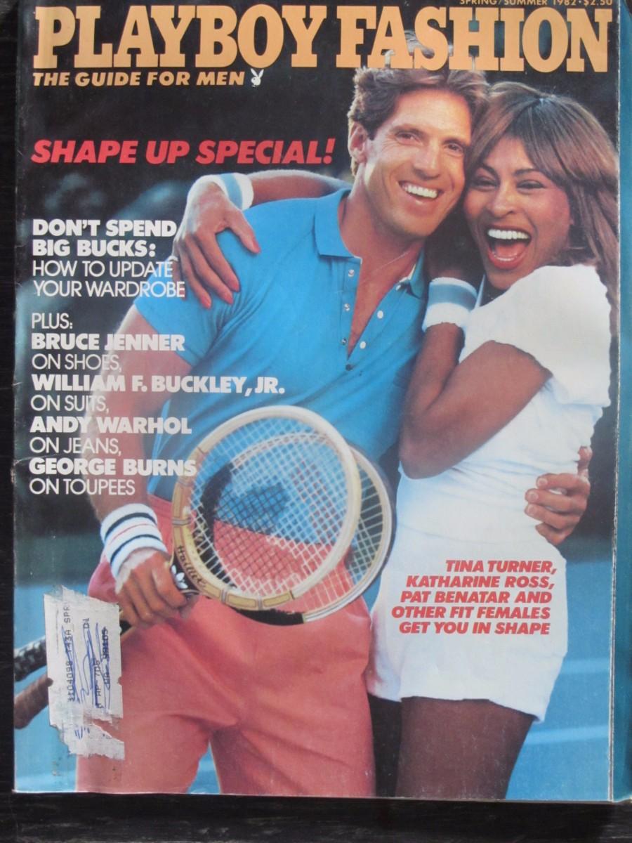 Playboy Fashion Guide for Men Magazine Spring / Summer 1982