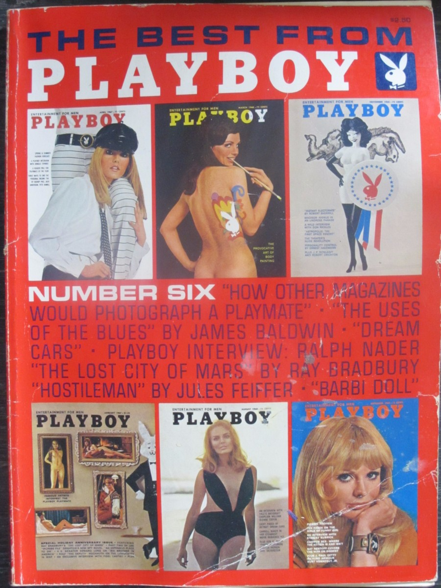The Best From Playboy #6 Magazine 1972