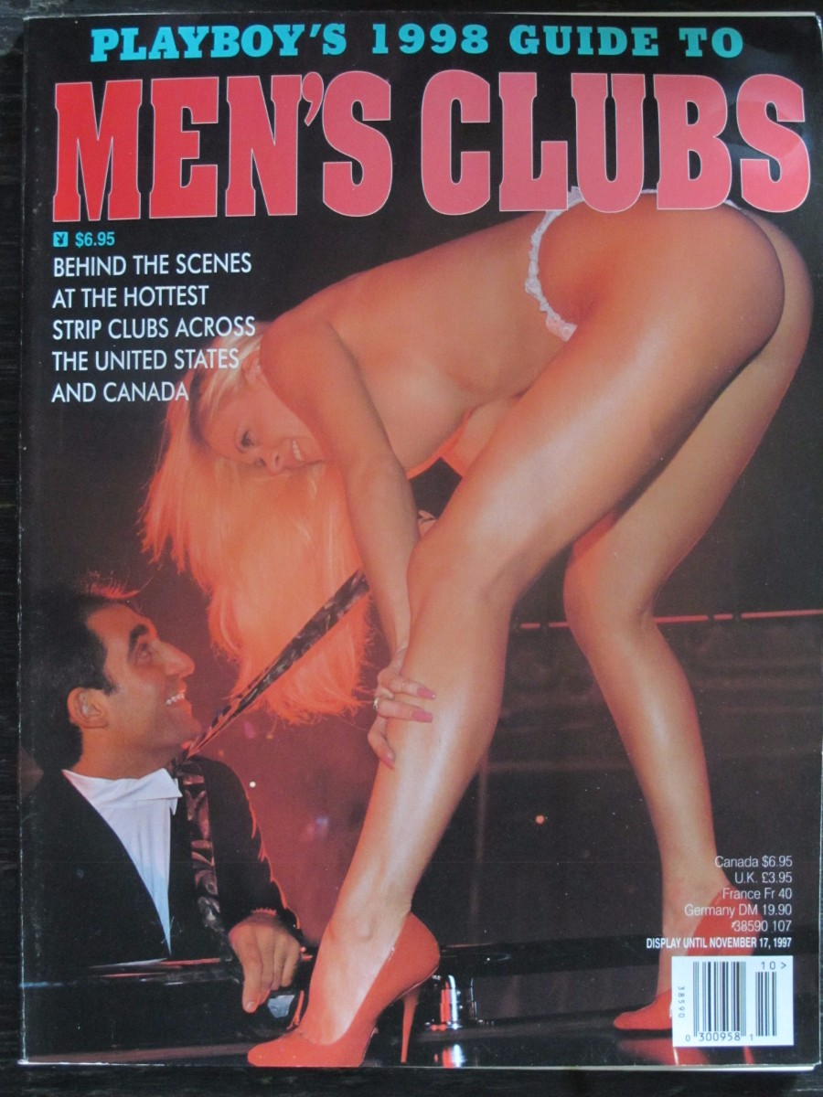 Playboy's Guide to Men's Clubs Magazine 1998