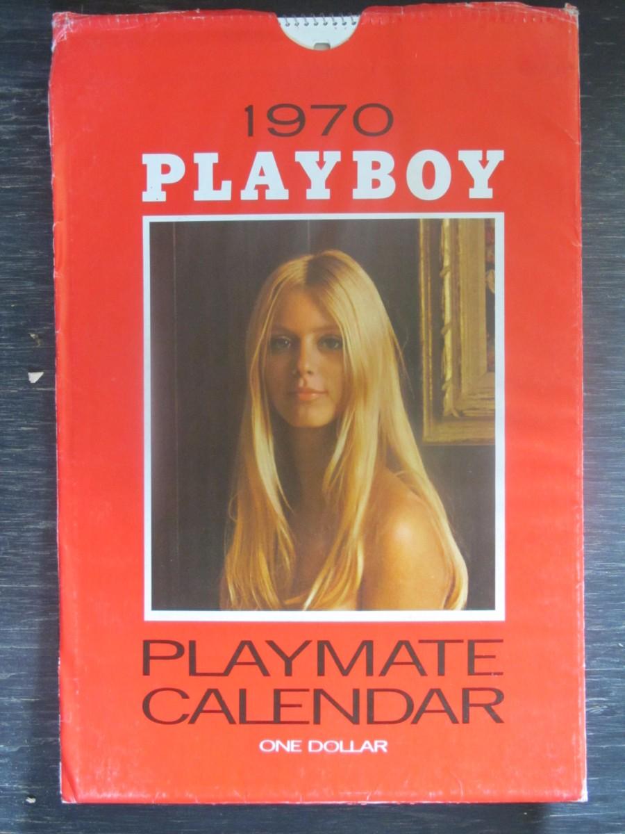 Playboy Calendar in Sleeve 1970