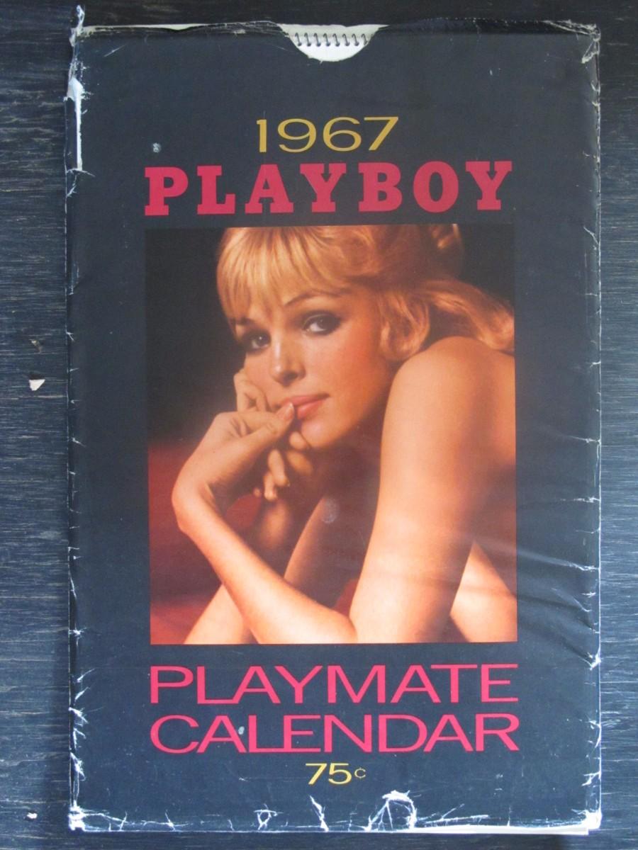 Playboy Calendar in Sleeve 1967