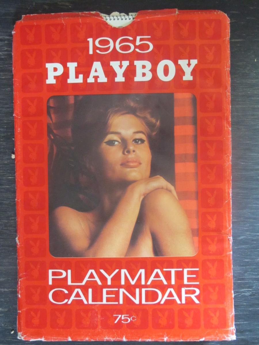 Playboy Calendar in Sleeve 1965