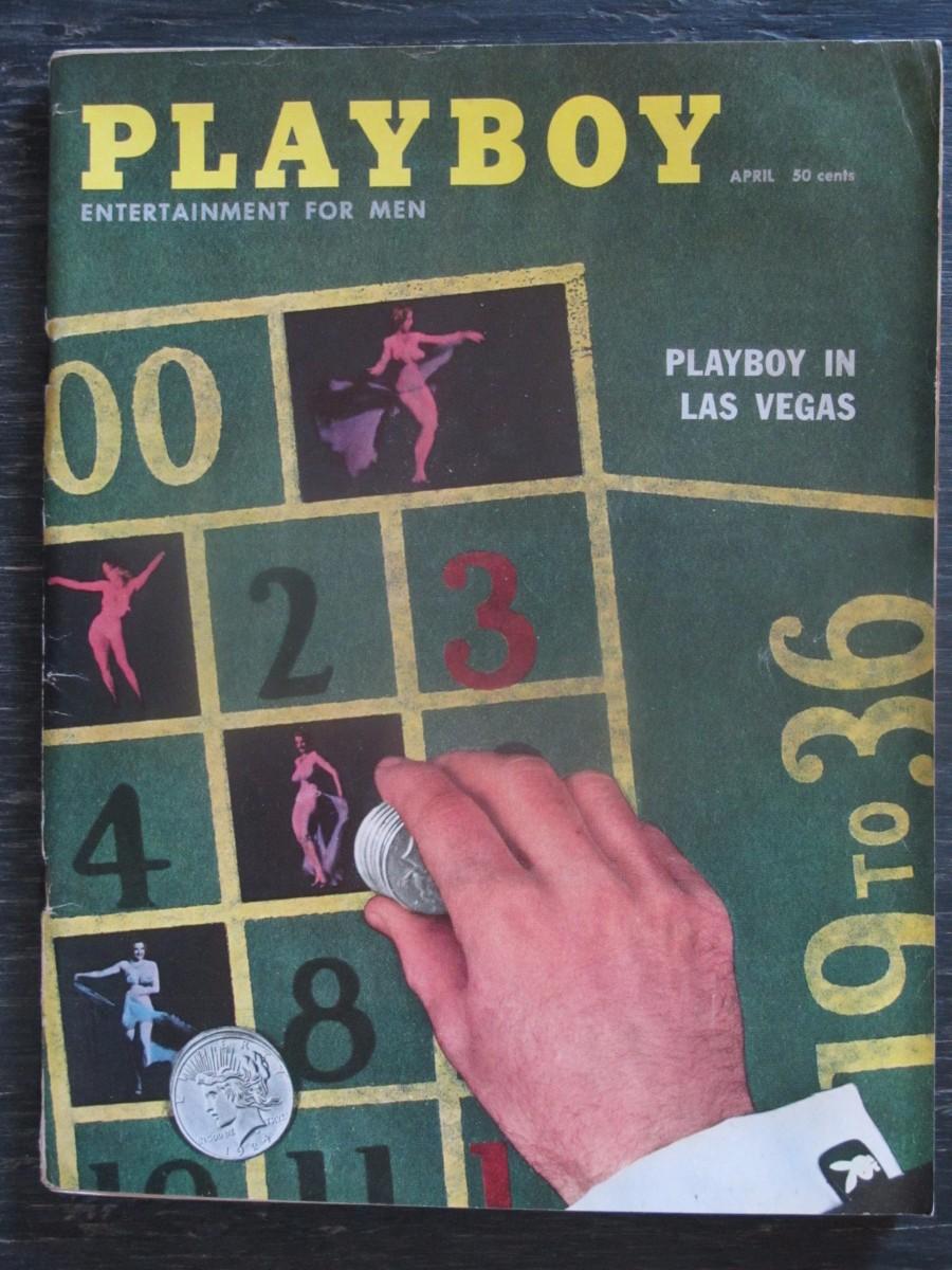 Playboy Magazine March 1958 Brigitte Bardot and Michiko Hamamura