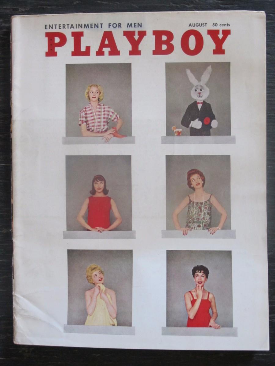Playboy Magazine August 1958