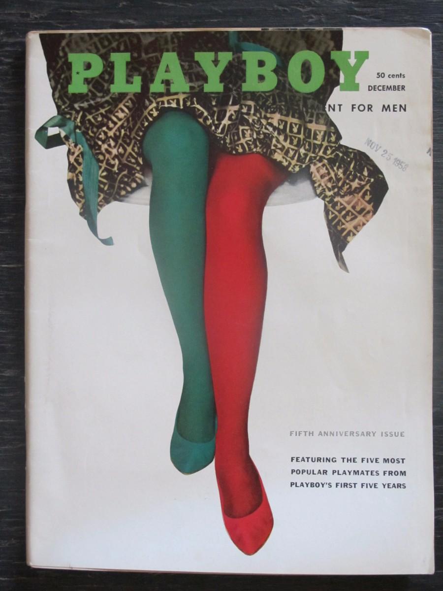 Playboy Magazine December 1958