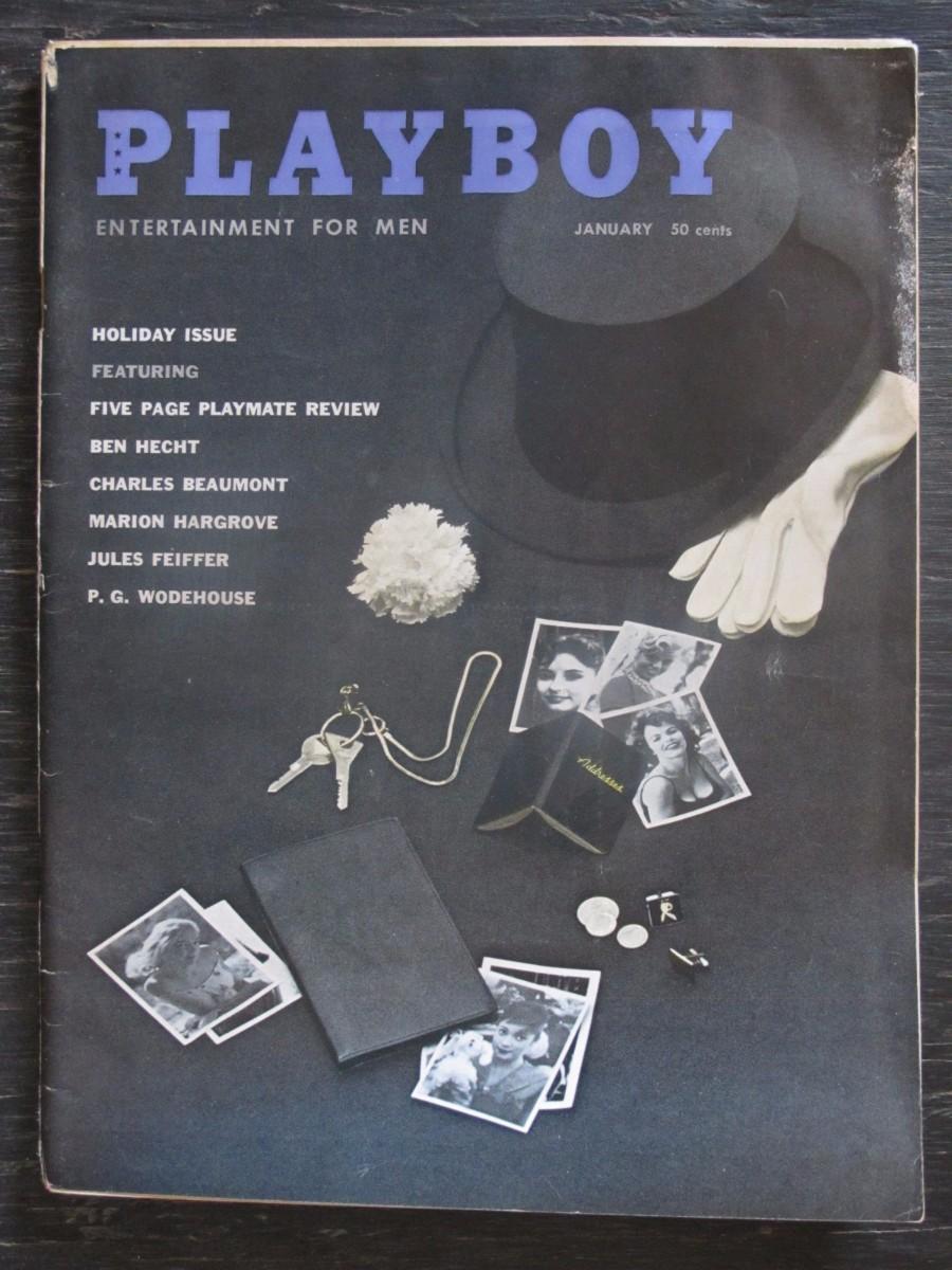 Playboy Magazine January 1959