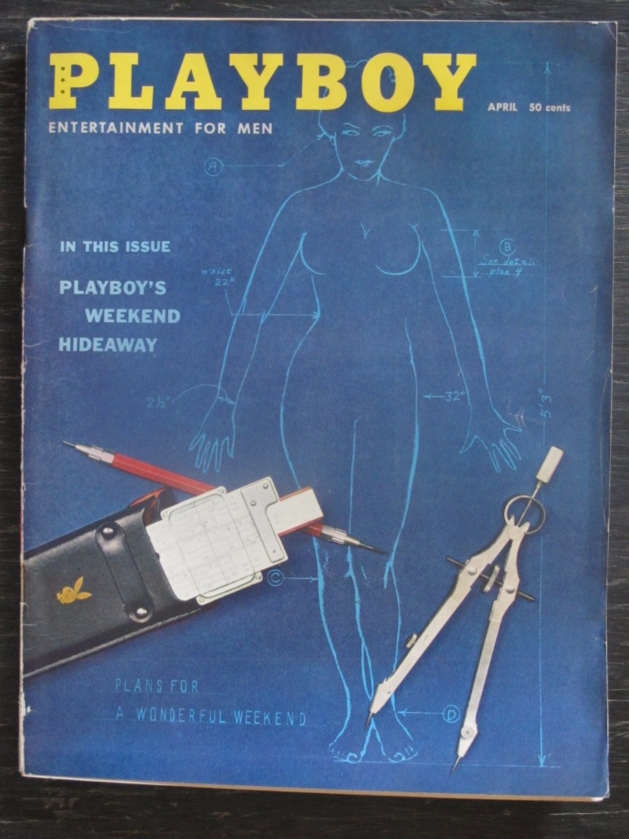 Playboy Magazine April 1959