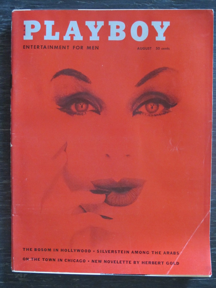 Playboy Magazine August 1959