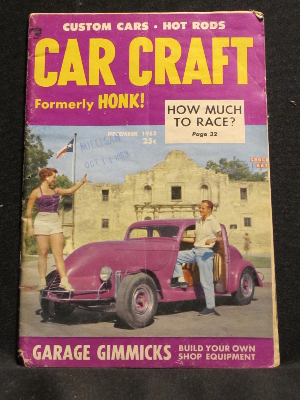 Car Craft Magazine December 1953