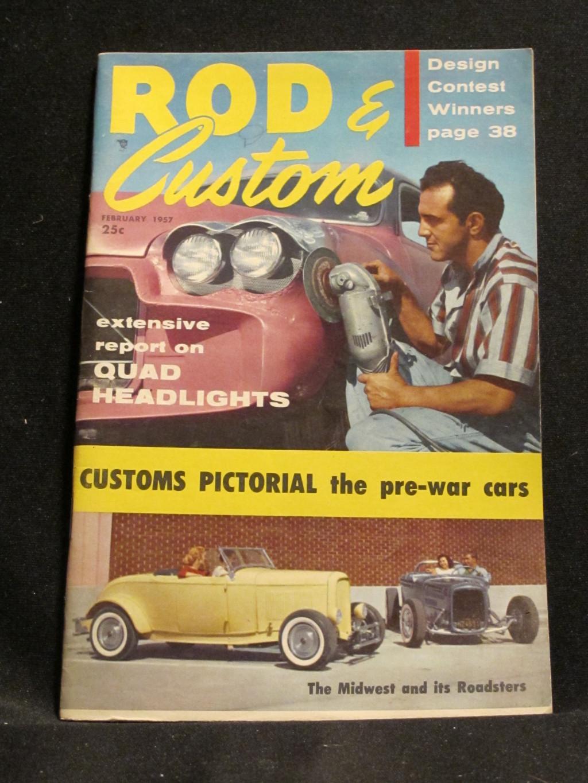 Rod & Custom Magazine February 1957