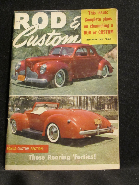 Rod & Custom Magazine December 1957