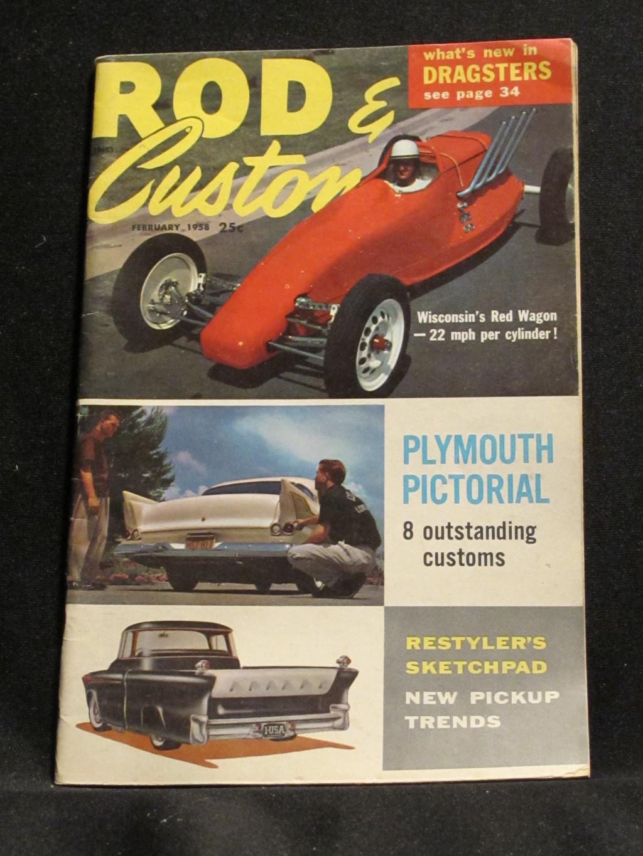 Rod & Custom Magazine February 1958