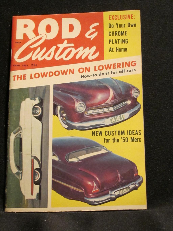 Rod & Custom Magazine April 1958
