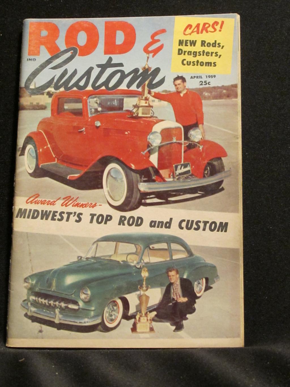 Rod & Custom Magazine April 1959
